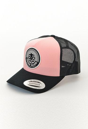 Trucker Hat RAINBOW Pink/Black - JONSEN ISLAND