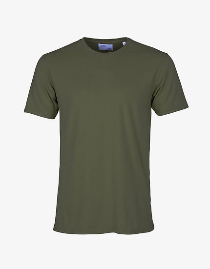 T-shirt SEAWEED GREEN - COLORFUL STANDARD