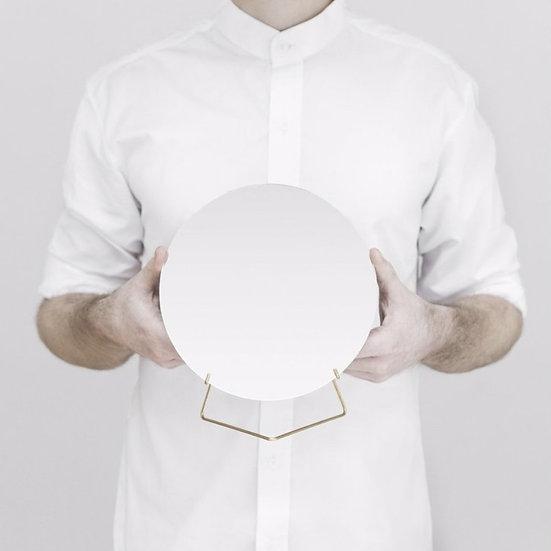 Standing mirror gold- Moebe