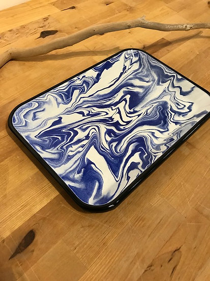 Plateau rectangulaire Marble - Bornn