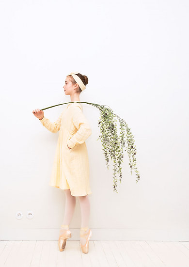 Robe Poppins Fleur de coton LA PALETTE - MERCI MARIUS x I LIVE BIO