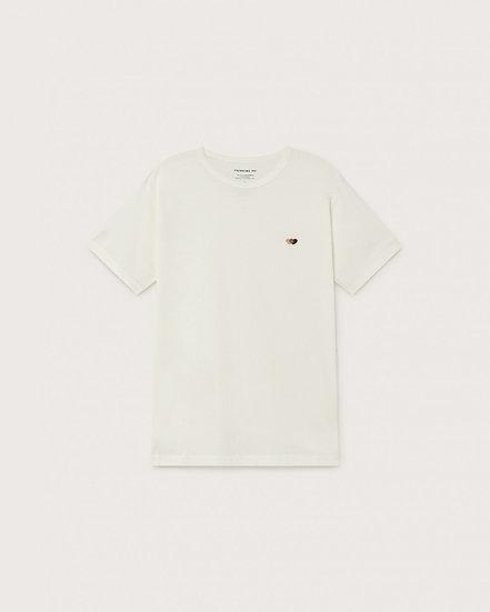 T-shirt Brown Hearts - Thinking Mu