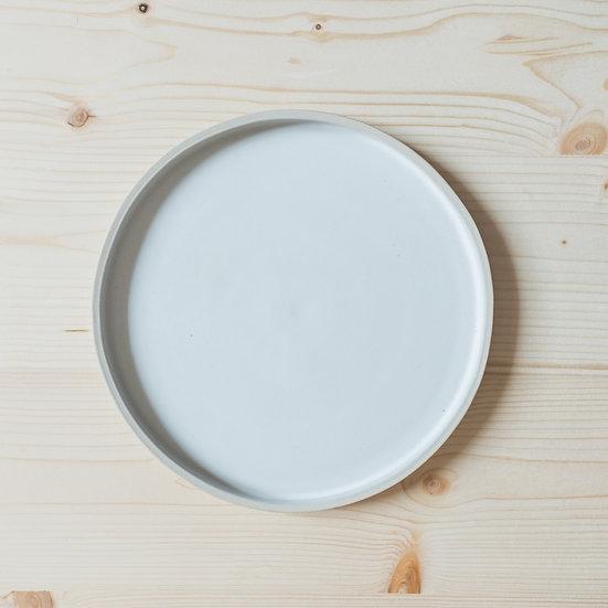 Petite Assiette Blanche - Gilbert Ceramic