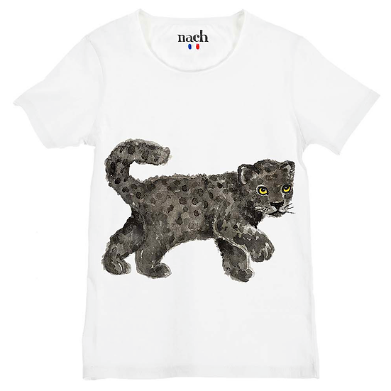 T-shirt Panthère NACH - Merci Marius x I live bio