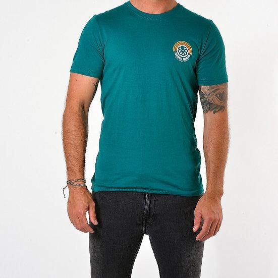T-Shirt Classic RAINBOW Green - JONSEN ISLAND