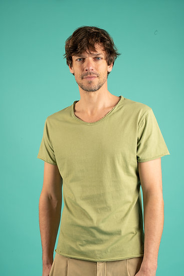 T-shirt Bobby Kaki - LES GARÇONS FACILES