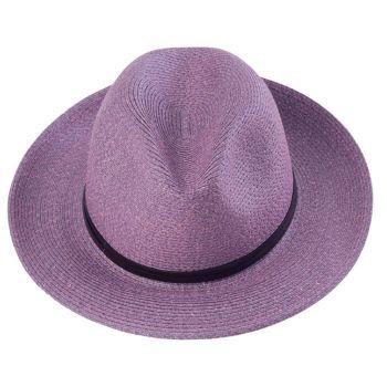 Chapeau en papier VIOLET - TRAVAUX EN COURS