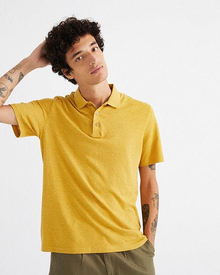 Polo Hemp Mustard - THINKING MU