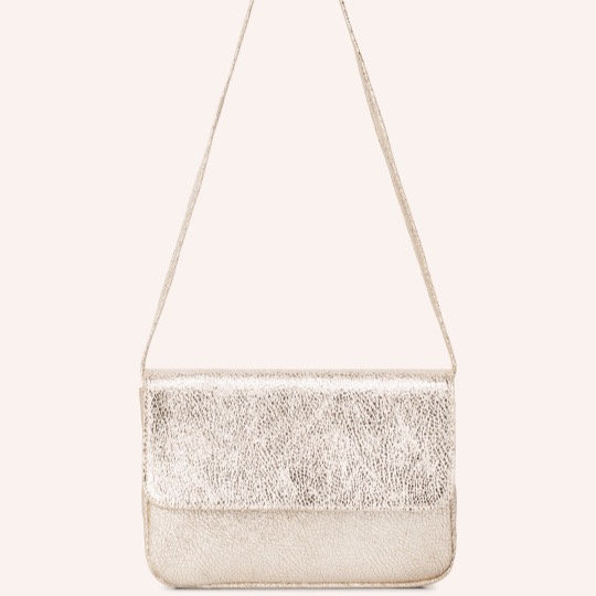 Sac MARVIN Caviar Champagne - ISABELLE VARIN