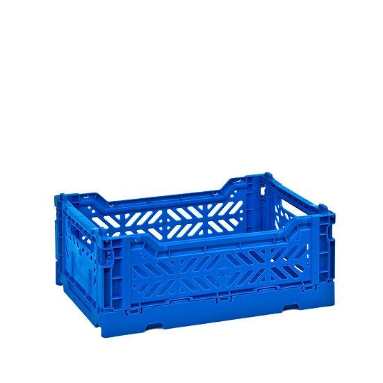 Mini cagette pliable Bleu - Aykasa
