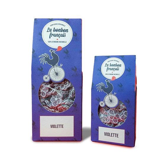 Bonbon à la violette artisanale - Le Bonbon Français