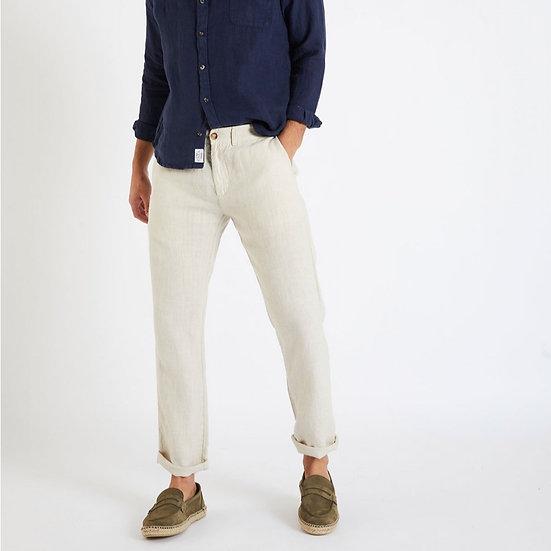 Pantalon en lin beige - CALA
