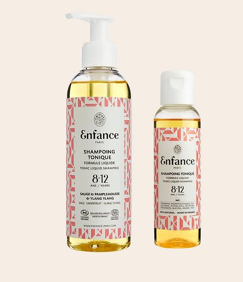 Shampoing tonique 8-12 ans ENFANCE PARIS - MERCI MARIUS x I LIVE BIO
