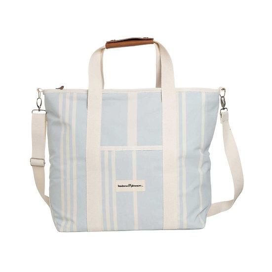 Glacière Tote bag Vintage Blue Stripe - BUSINESS & PLEASURE