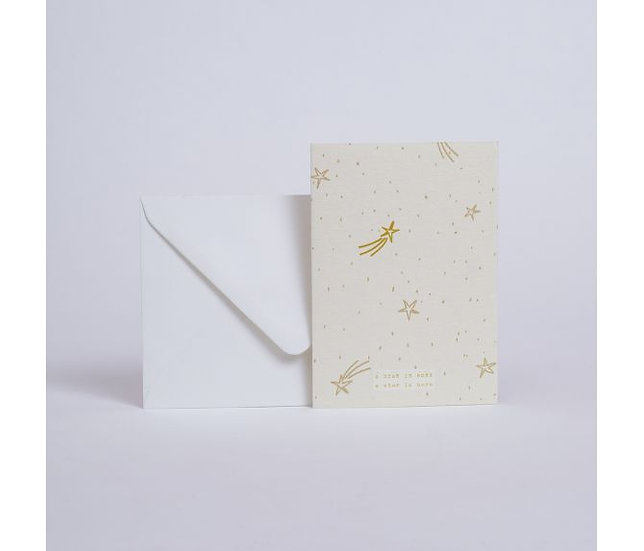 "Carte Etoiles ""A star is born"" - SEASON PAPER"