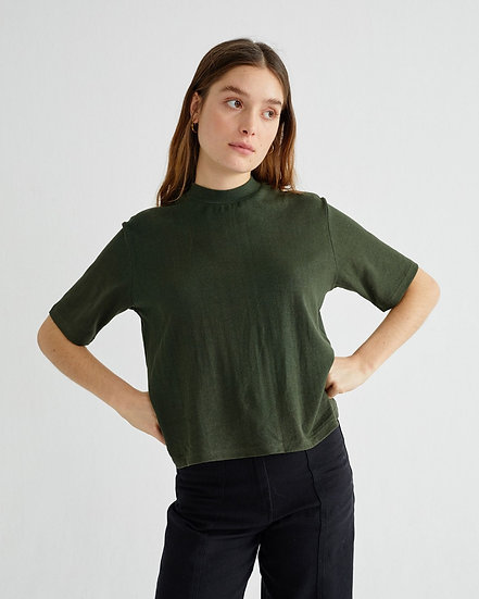 T-shirt Hemp Green - Thinking Mu