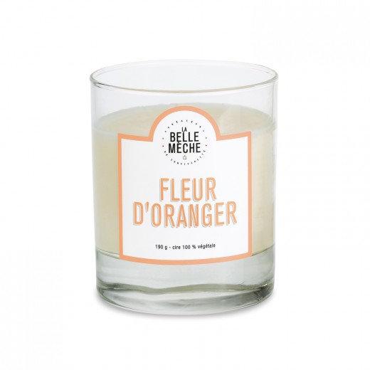 Bougie Fleur d'oranger - La Belle Mèche
