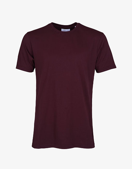 T-shirt Oxblood Red - Colorful Standard