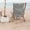 Thumbnail: Chaise longue TOMMY Lauren's Navy Stripe - BUSINESS & & PLEASURE