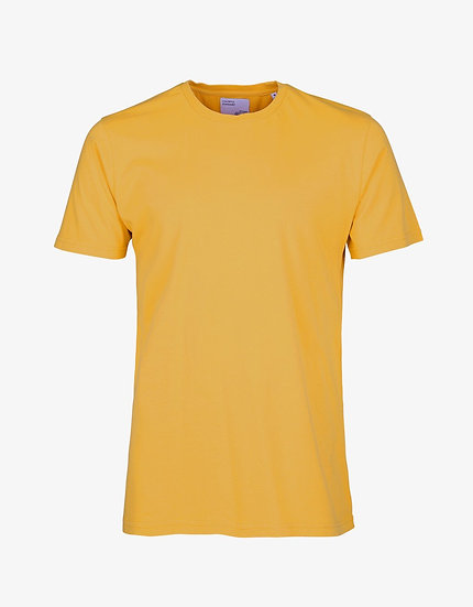 T-shirt Burned Yellow - Colorful Standard