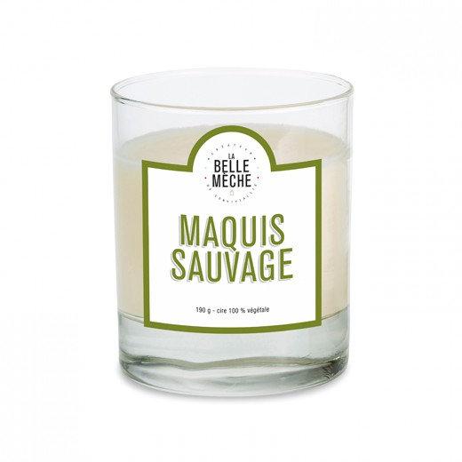 Bougie Maquis Sauvage - La Belle Mèche