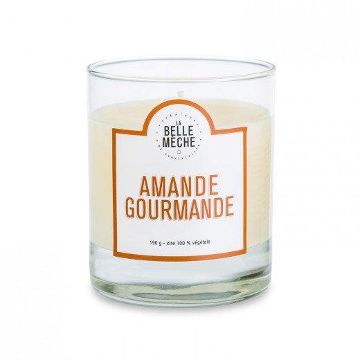 Bougie Amande Gourmande - La Belle Mèche