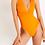 Thumbnail: Maillot 1 pièce CARLA CABOURG Orange - LIVIA