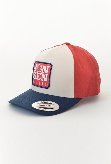 Trucker Hat MERCURY Tricolore - JONSEN ISLAND