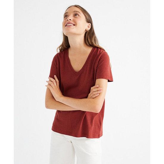 T-Shirt Teja Hemp Clavel - THINKING MU