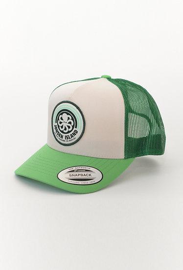 Trucker Hat RAINBOW Green - JONSEN ISLAND