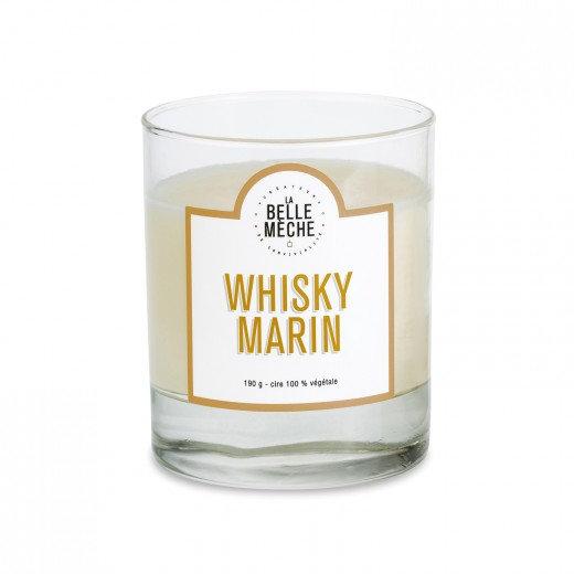 Bougie Whisky Marin - La Belle Mèche