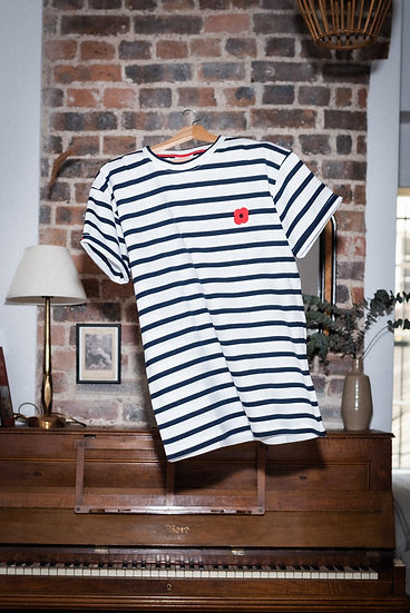 T-shirt Marin - MONSIEUR COQUELICOT