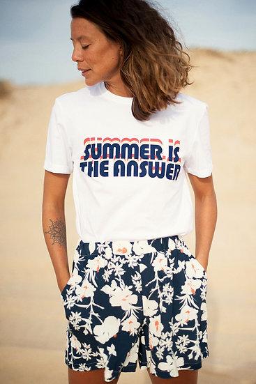 T-shirt BAHIA Summer Blue - ALBERTINE
