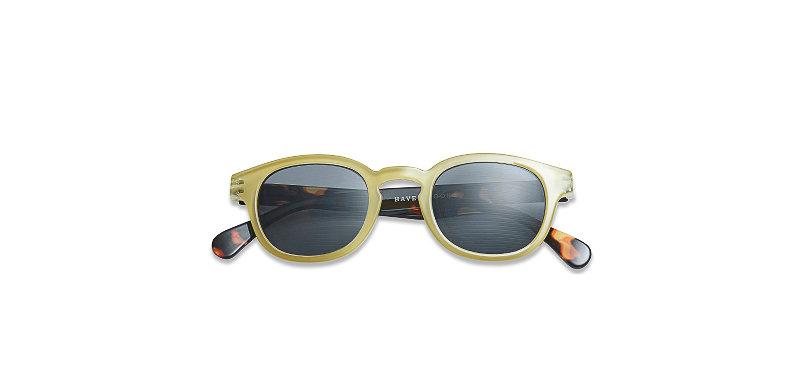 Lunettes de soleil TYPE C Tortoise / Lime - HAVE A LOOK