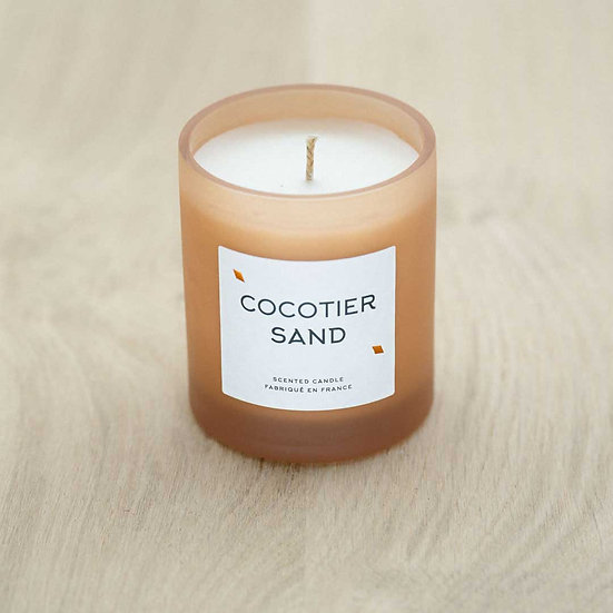 Bougie COCOTIER SAND - ATELIER JAME