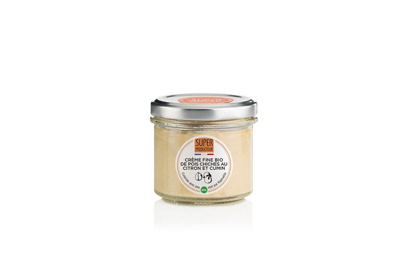 Crème fine BIO de Pois Chiches au Citron et au Cumin - SUPERPRODUCTEUR