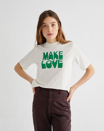 T-Shirt Make Love - Thinking Mu