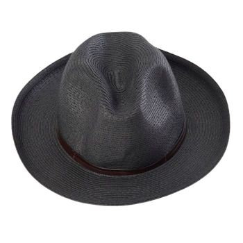 Chapeau en papier NOIR - TRAVAUX EN COURS