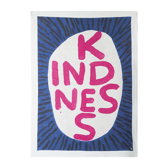 "Torchon "" Kindness "" - David Shrigley"