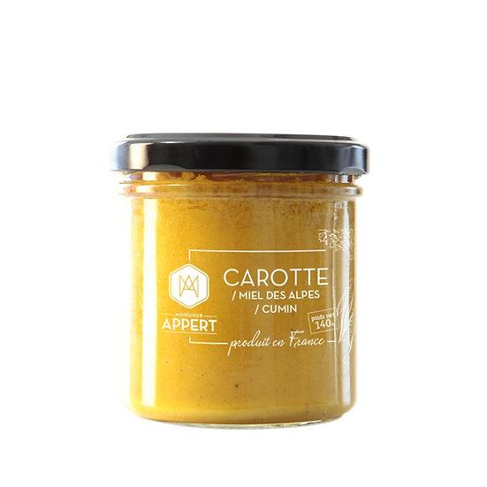Carotte / Miel des Alpes / Cumin - MONSIEUR APPERT