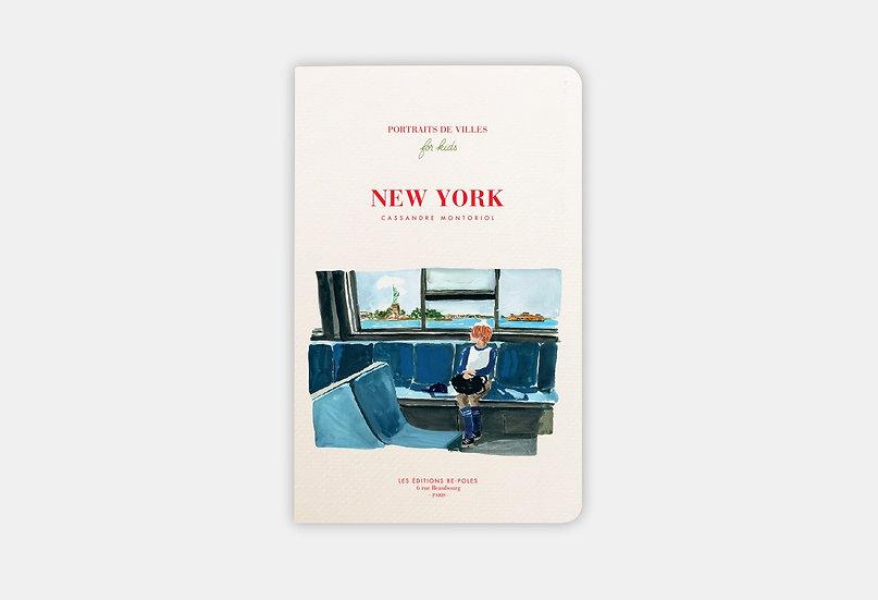 Portraits de villes for kids New York - Be Poles