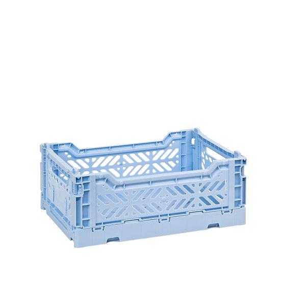 Mini cagette pliable Baby Blue - Aykasa