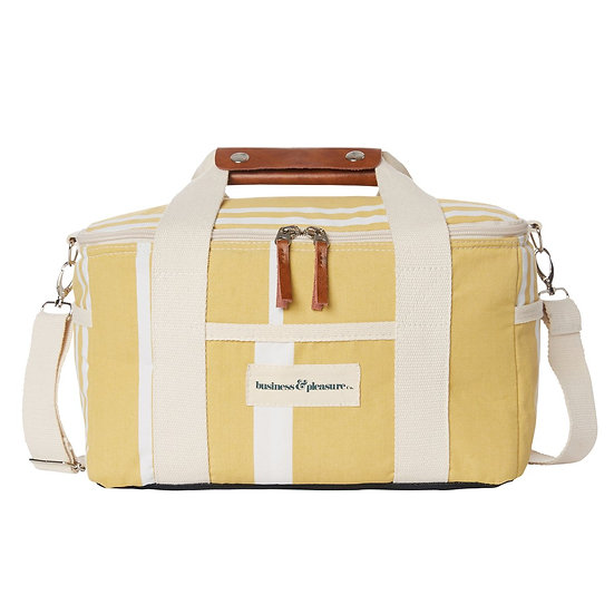 Glacière Premium Vintage Yellow Stripe - BUSINESS & PLEASURE
