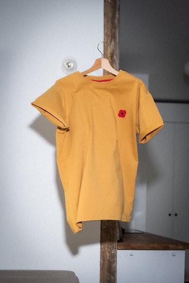Copie de T-shirt moutarde - MONSIEUR COQUELICOT