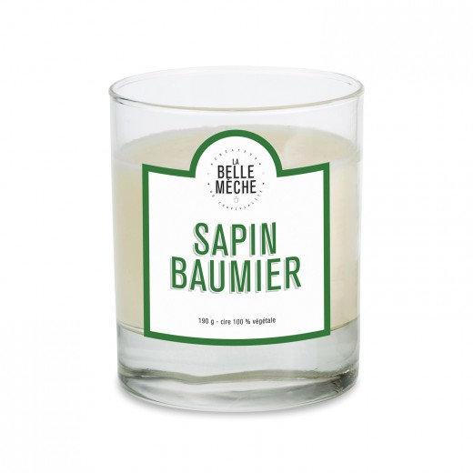 Bougie Sapin Baumier - La Belle Mèche