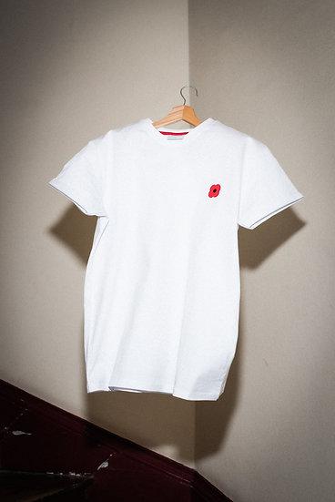 T-shirt Blanc - MONSIEUR COQUELICOT