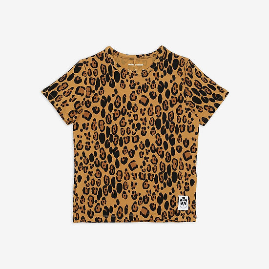 T-shirt Léopard MINI RODINI - Merci Marius x I live bio