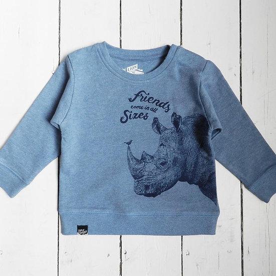 Sweat-shirt bébé LION OF LEISURE