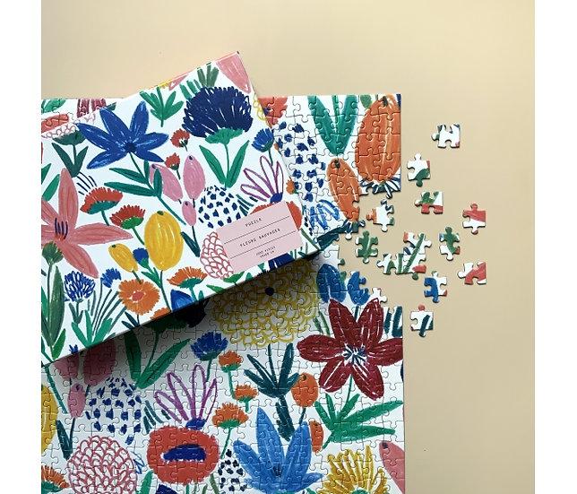 Puzzle Fleurs sauvages - SEASON PAPER