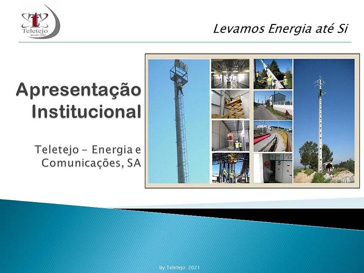 Apresentação Institucional Teletejo 2021